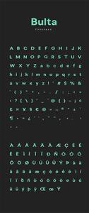 Bulta Typeface
