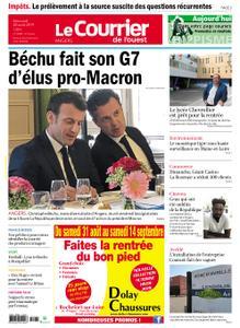 Le Courrier de l'Ouest Angers – 28 août 2019