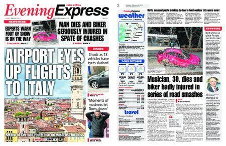 Evening Express – February 26, 2018
