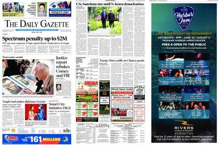 The Daily Gazette – June 15, 2018