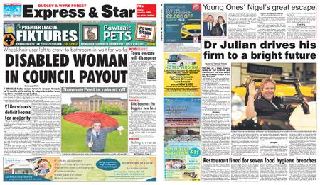 Express and Star Dudley and Wyre Forest Edition – June 14, 2019