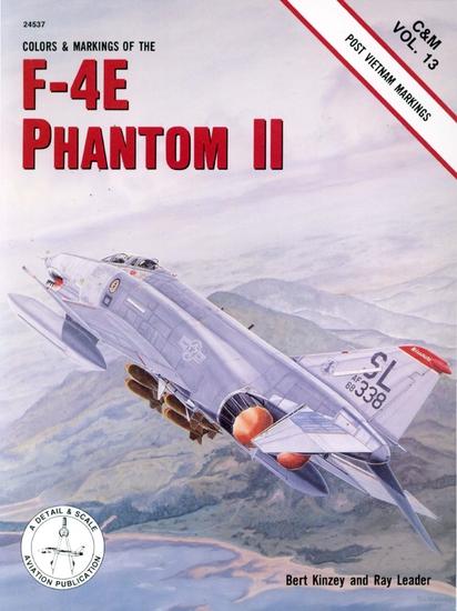 Colors and Markings of the F-4E Phantom II. Post Vietnam Markings