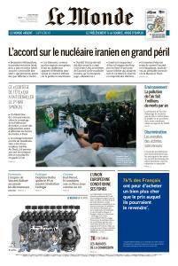 Le Monde du Jeudi 3 Mai 2018
