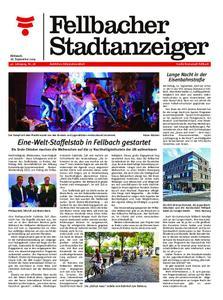 Fellbacher Stadtanzeiger - 18. September 2019