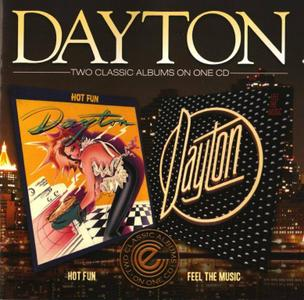 Dayton - Hot Fun (1982) & Feel The Music (1983) [2013, Remastered Reissue]
