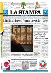 La Stampa Torino Provincia e Canavese - 27 Febbraio 2018