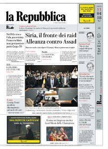 la Repubblica - 11 Aprile 2018