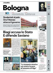 la Repubblica Bologna - 20 Marzo 2019