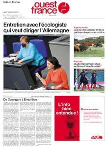 Ouest-France Édition France – 03 juillet 2021