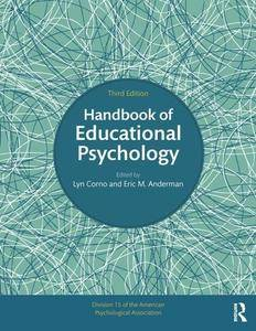 Handbook of Educational Psychology, Third Edition