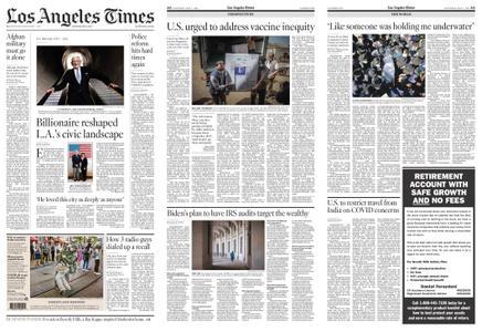 Los Angeles Times – May 01, 2021