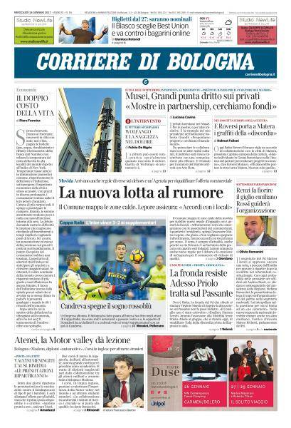 Corriere di Bologna - 18 Gennaio 2017