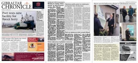 Gibraltar Chronicle – 29 October 2019