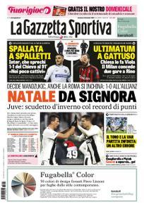 La Gazzetta dello Sport Sicilia – 23 dicembre 2018