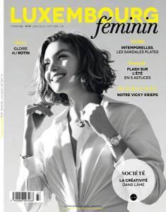 Luxembourg Féminin - Juni-Août 2018