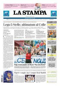 La Stampa Torino Provincia e Canavese - 27 Maggio 2018