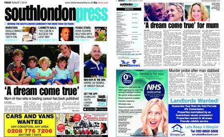 South London Press – August 03, 2018
