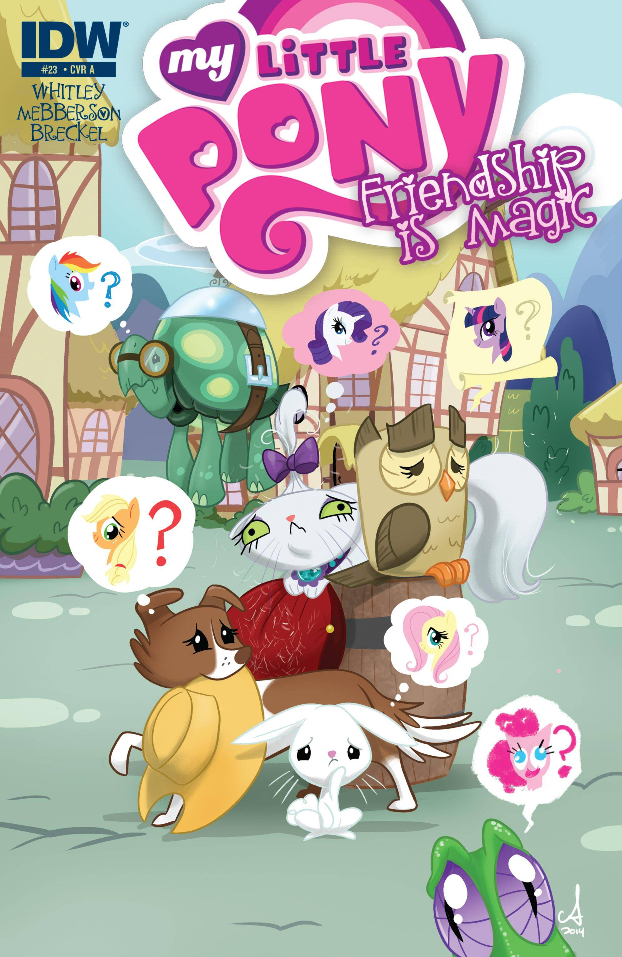 My Little Pony - Friendship Is Magic 023 2014 digital 2 covers