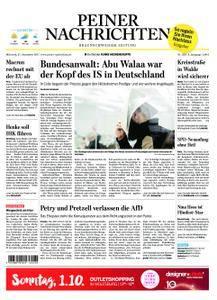 Peiner Nachrichten - 27. September 2017