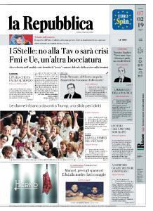 la Repubblica - 7 Febbraio 2019