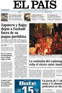 El País. 12 Marzo