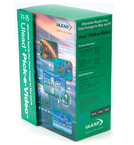 Ulead Pick-a-Video BackGround Animations