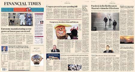 Financial Times Europe – 03 January 2018