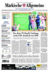 Neue Oranienburger Zeitung - 02. September 2017