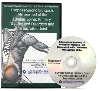 Diagnosis-Specific Orthopedic Management of the Lumbar Spine DVD 1 [repost]
