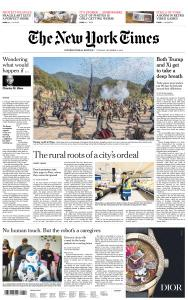 International New York Times - 4 December 2018