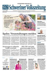 Schweriner Volkszeitung Hagenower Kreisblatt - 09. März 2020