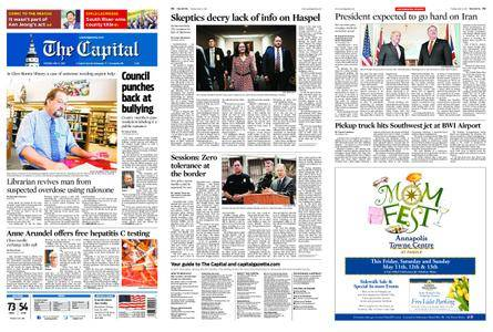 The Capital – May 08, 2018