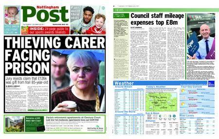 Nottingham Post – October 24, 2017