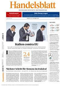 Handelsblatt - 22. Oktober 2018