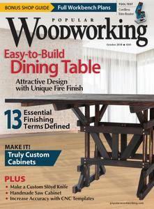 Popular Woodworking - October 2018
