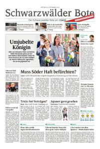 Schwarzwälder Bote St. Georgen, Triberg, Furtwangen - 04. September 2019