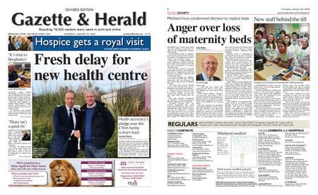 Gazette & Herald – January 23, 2020