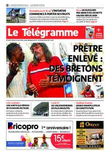 Le Télégramme Landerneau - Lesneven – 13 avril 2021