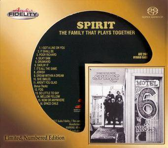 Spirit - The Family That Plays Together (1968) [Audio Fidelity, Remastered 2017] Audio CD Layer