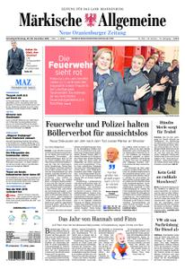 Neue Oranienburger Zeitung - 29. Dezember 2018
