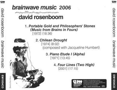 David Rosenboom - Brainwave Music (1975) {2006 EM}