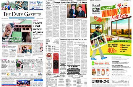 The Daily Gazette – November 07, 2017