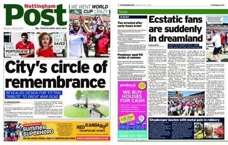 Nottingham Post – June 25, 2018
