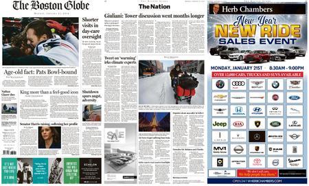 The Boston Globe – January 21, 2019