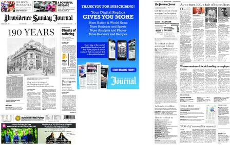 The Providence Journal – July 21, 2019