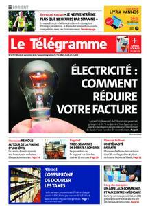 Le Télégramme Lorient – 21 septembre 2021