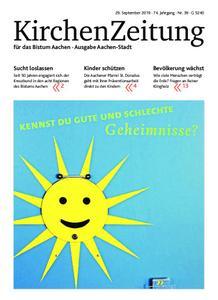 KirchenZeitung für das Bistum Aachen – 29. September 2019