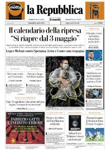 la Repubblica - 16 Aprile 2021