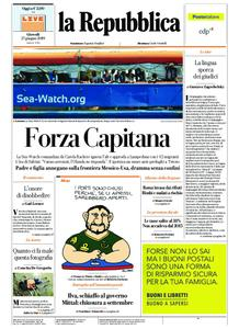 la Repubblica – 27 giugno 2019