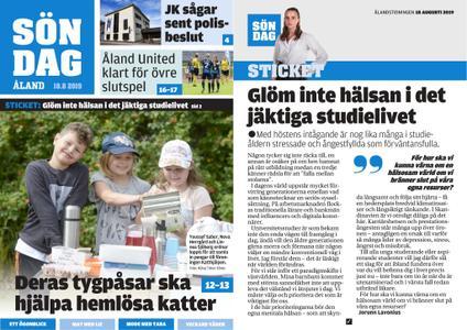 Ålandstidningen – 18 augusti 2019